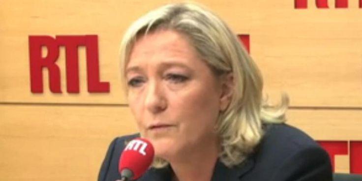 VIDEO. Marine Le Pen pour la fin des menus sans porc dans les cantines des villes FN