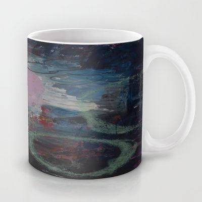 Colors of the week - monday Mug by Helle Pollas - $15.00