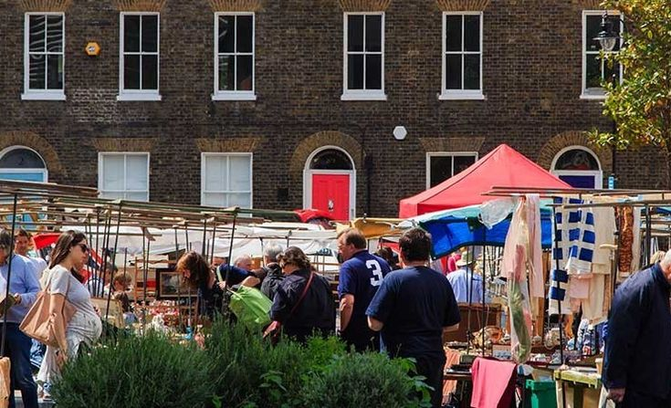 Bermondsey Market Antique - Fridays 6-2 Farmers - Saturdays 10-2