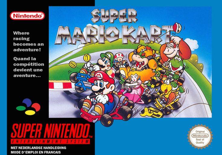 Super Mario Kart - Super Nintendo - Acheter vendre sur Référence Gaming