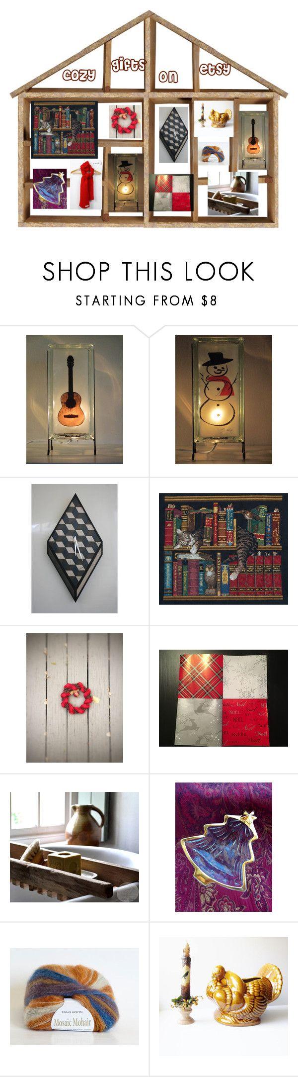 Cozy Gift Ideas by glowblocks on Polyvore featuring interior, interiors, interior design, home, home decor, interior decorating and Hostess