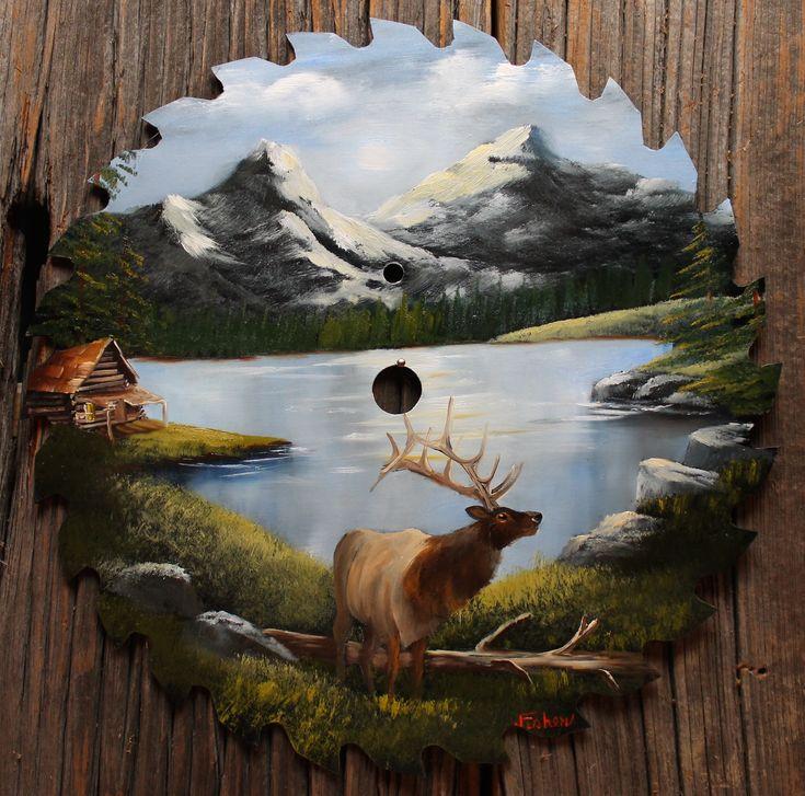 _MountainLake_w-elk