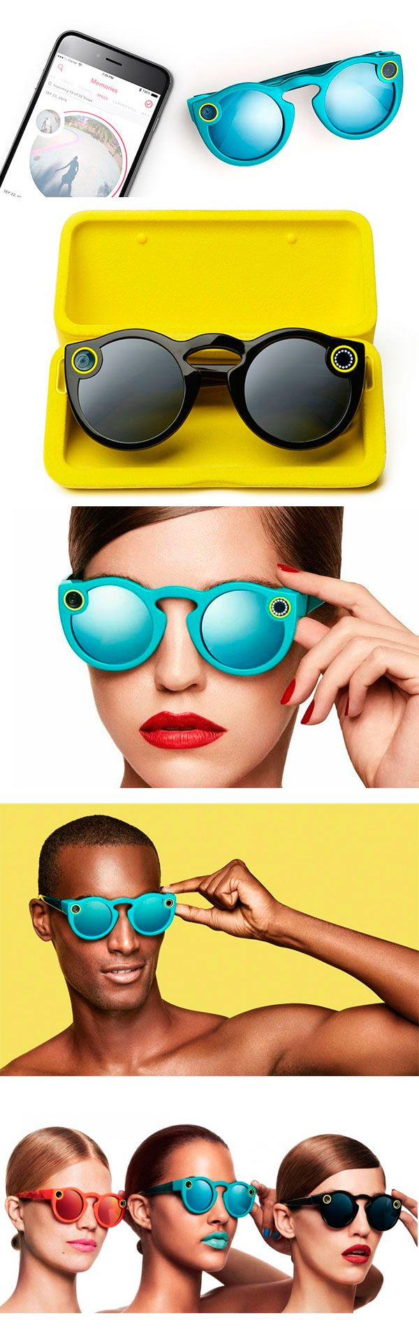 Носимая видеокамера #Snapchat #Spectacles