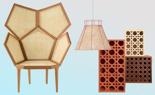 Un esprit Louis XV se retrouve dans une sélection de mobilier très actuel...