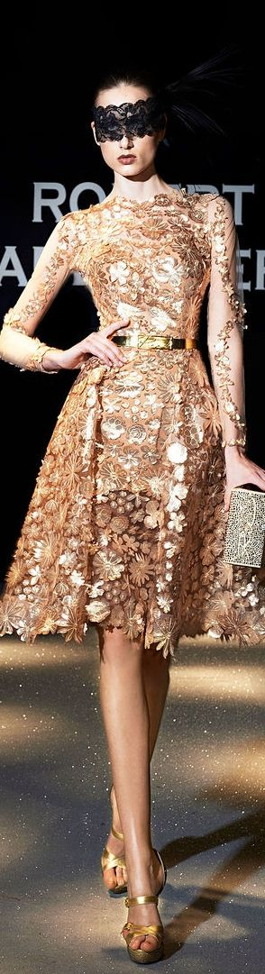 Robert Abi Nader Couture SS 2013
