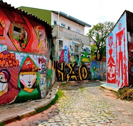 Beco do Batman - Vila Madalena - SP // AB | #Brazil #Travel
