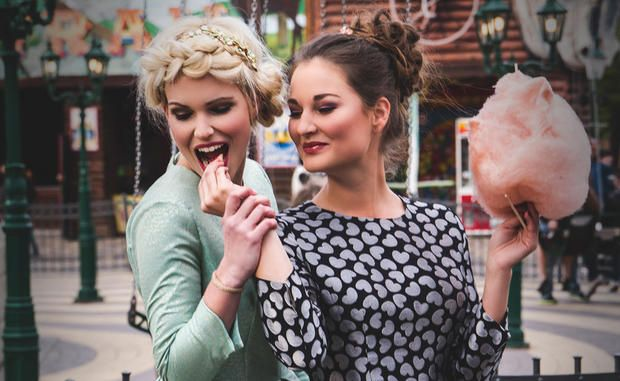 Great hair & make up for Dirndl & co