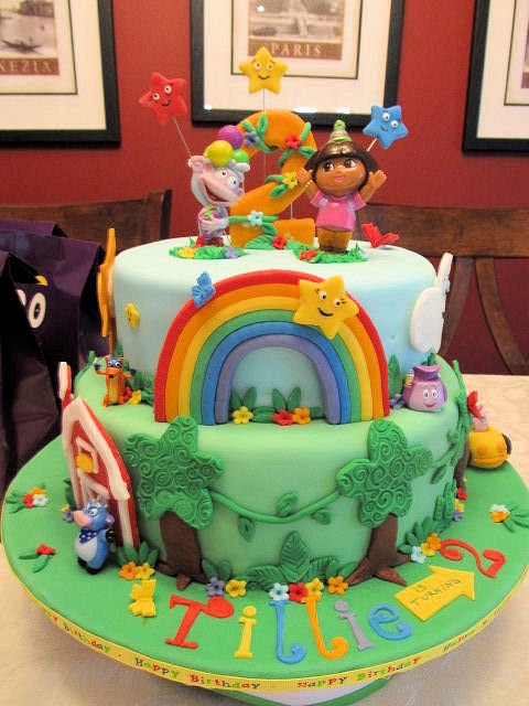 I so want Nana Terri to make this! Dora the Explorer by Dora the Explorer