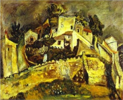 Chaim Soutine Completion Date: c.1918 Style: Expressionism