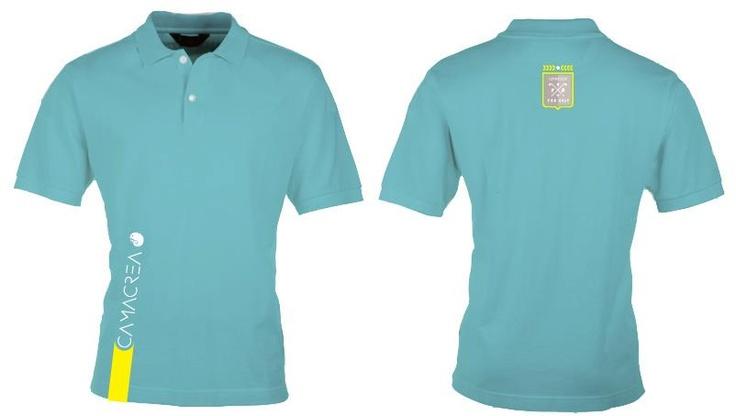 CAMACREA® official golf team polo