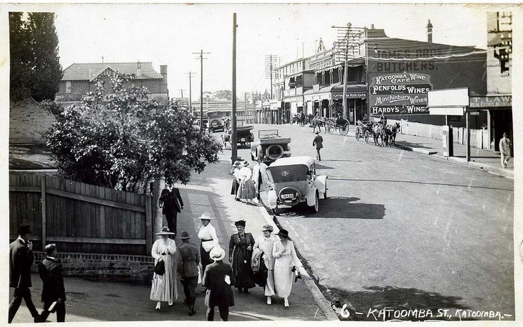 Katoomba St, Katoomba 1915 | Flickr - Photo Sharing!