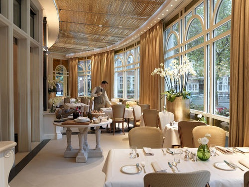 The Connaught - Acclaimed French chef Helene Darroze is at the helm of the kitchens and her restaurant, Helene Darroze at the Connaught, has been hailed as one of London's finest dining experiences.