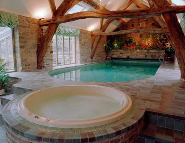 17 best Jacuzzi images on Pinterest Indoor jacuzzi, Home ideas and - jacuzzi interior