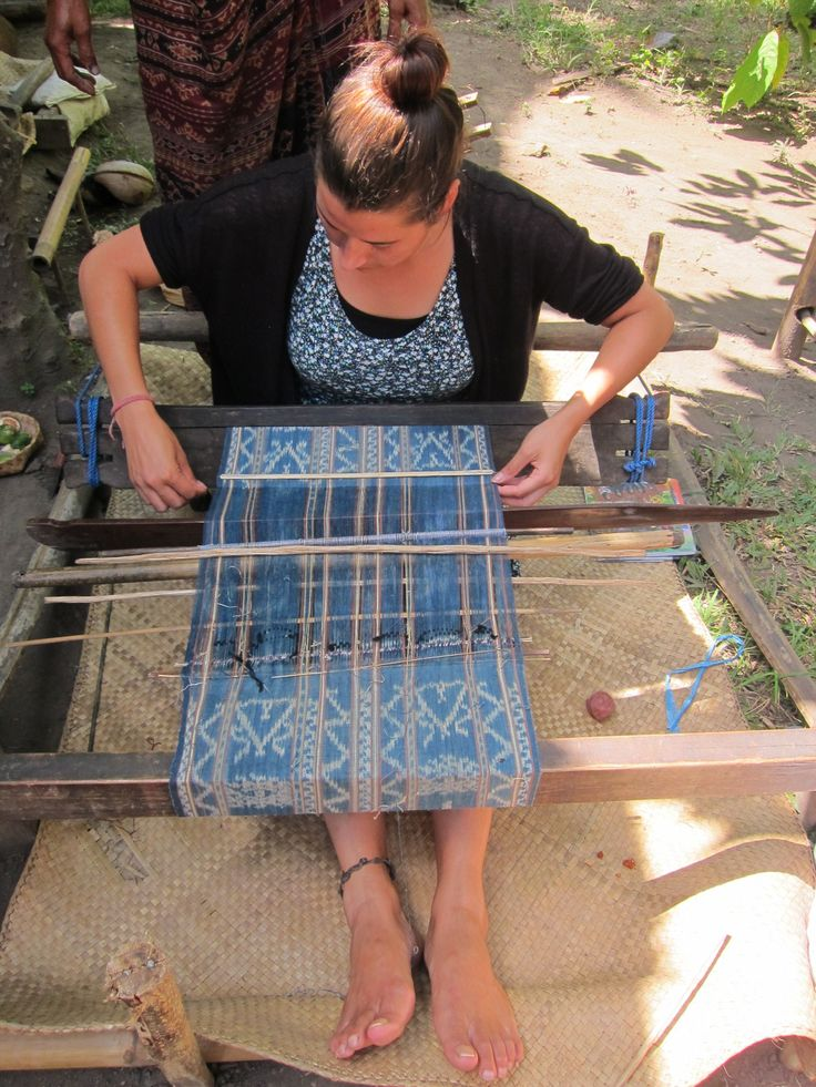Research Ikat for LARAS bags at Lepo Lorun, Women's Weaver Cooperation in Flores Indonesia Learn more about the women of Lepo Lorun https://laras.exposure.co/the-women-of-lepo-lorun @larapeeters