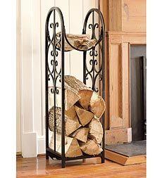 Indoor Outdoor Montebello Log Rack And Cover Plow Hearth