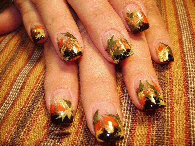 Картинки по запросу осенний дизайн ногтей
