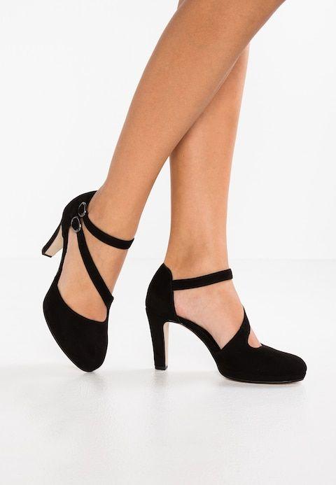 Volumen groß tolle Auswahl glatt High heels - schwarz @ Zalando.co.uk 🛒   Shoes! in 2019 ...