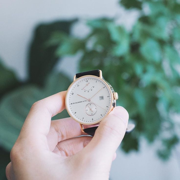 Our Atticus in rose gold A timeless automatic movement in a contemporary Bauhaus inspired design.