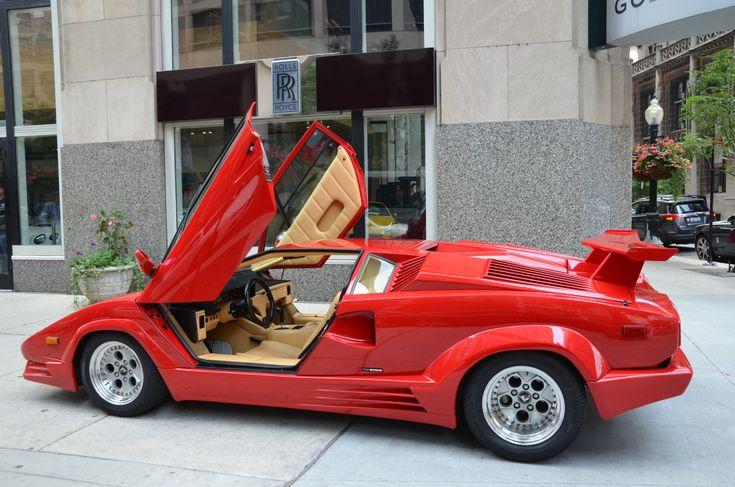 1989 Lamborghini Countach 25th Anniversary Edition Stock # GC1753 for sale near Chicago, IL | IL Lamborghini Dealer