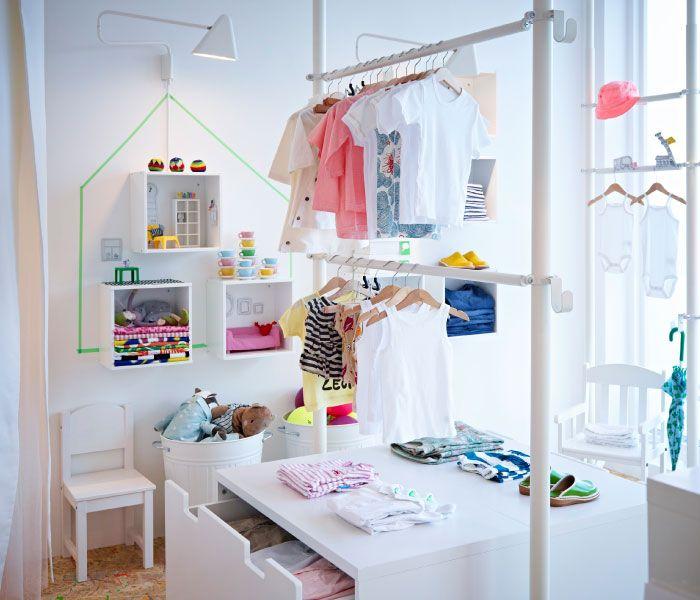 17 meilleures images propos de dressing room sur pinterest espace de plac - Ikea chambre d enfants ...