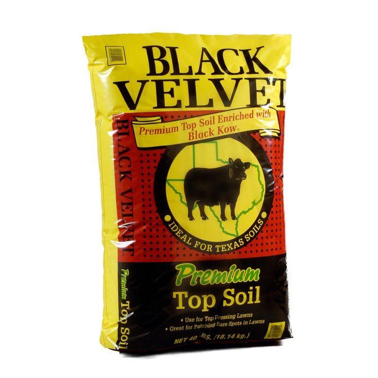 Black Kow 40-lb Organic Top Soil