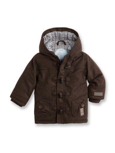 Duffle-coat drap de laine