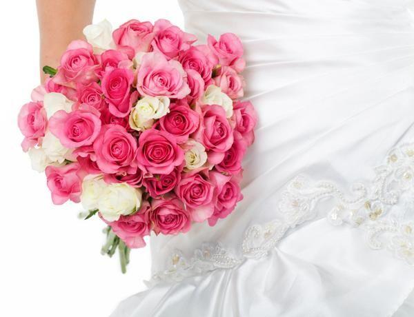 Blir Kates brudebukett rosa?
