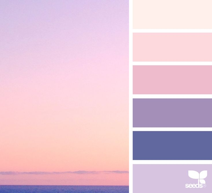 I think this is the color palette for my sewing room. { color horizon } image via: @orangiepink