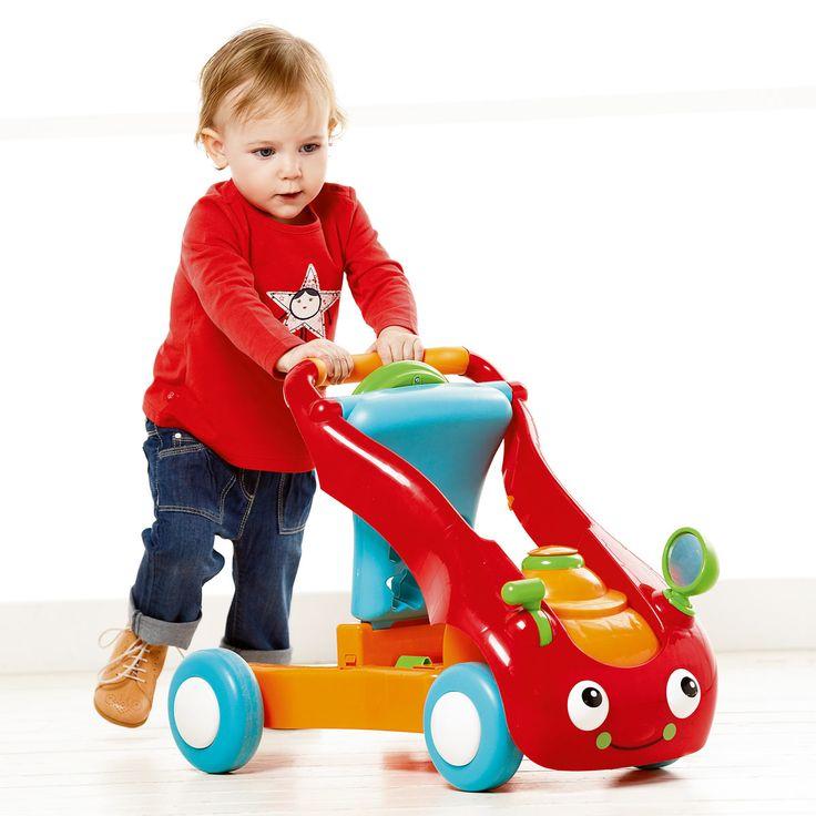 buggy pousseur porteur rouge anddy oxybul pour enfant de 9. Black Bedroom Furniture Sets. Home Design Ideas