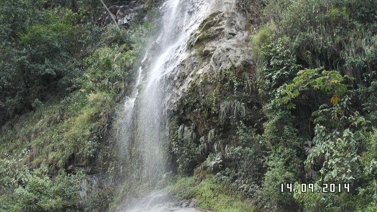 Cascada de angulo