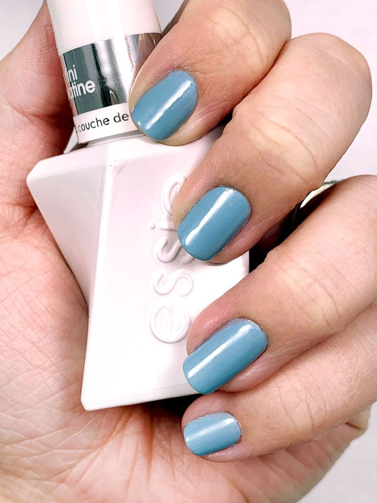 The Best At Home No Lamp Gel Nail Polish Lexis Rose Essie Gel Couture Essie Gel Nail Polish
