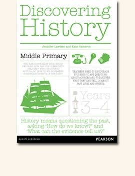 Discovering History Middle Primary Teacher Resource for Years 3-4. Fantastic guide for teaching Australian Curriculum: History. Includes 28 laminated picture/activity cards.