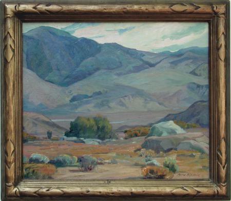 "Aaron Kilpatrick, River Valley, O/C, 24"" x 30"", signed LR      Aaron E. Kilpatrick - California-Art.com"