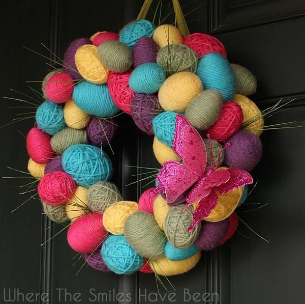 19 best easter yarn eggs images on pinterest easter ideas easter
