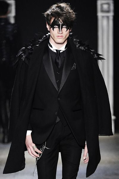 Varvatos FW 14/15  Serving Fashion Superhero realness