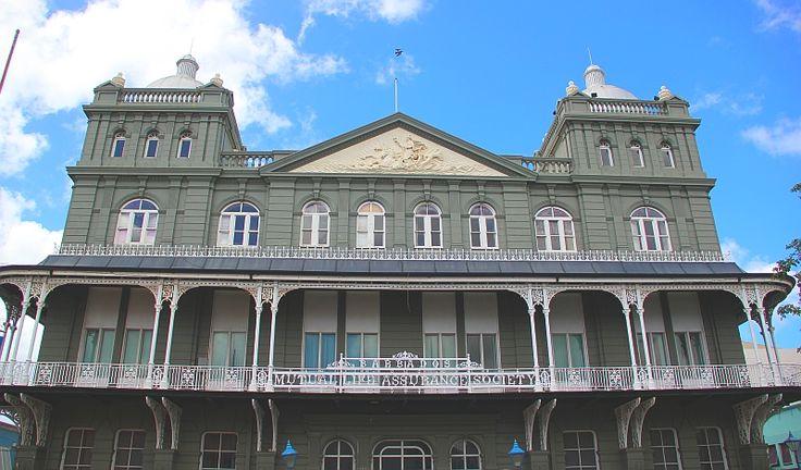 Magnificent architecture in Bridgetown, #Barbados