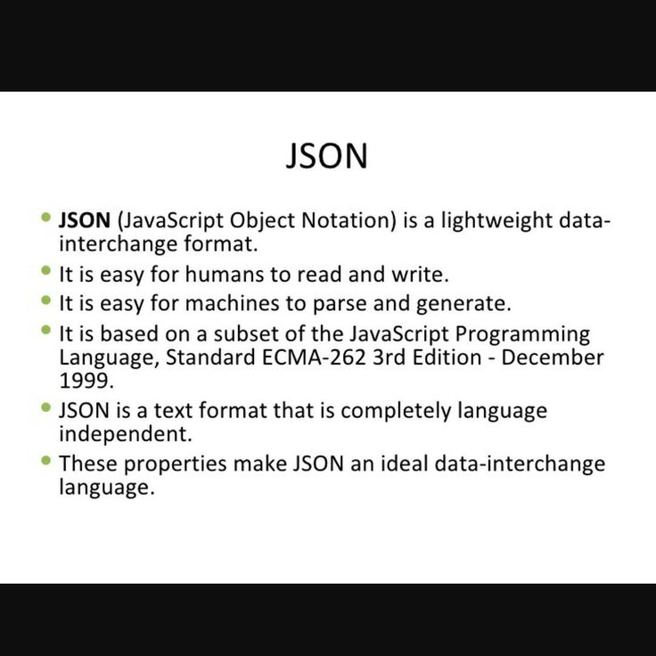 json explained json nodejs angularjs javascript typescript framework