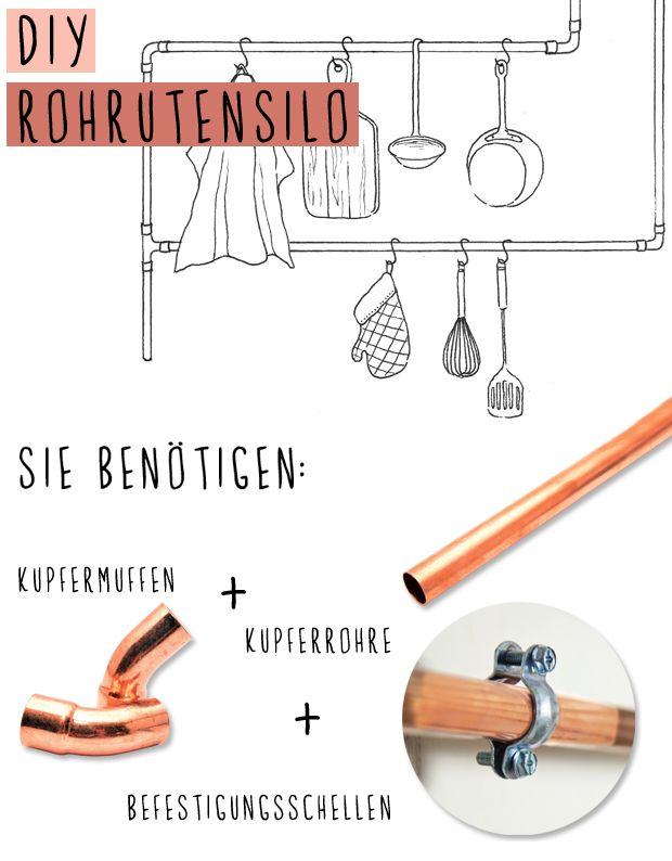 48 best Kupfer Küche images on Pinterest | Kupfer deko, Kupfer und ...
