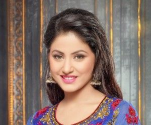 Hina Khan gorgeous in designer dress