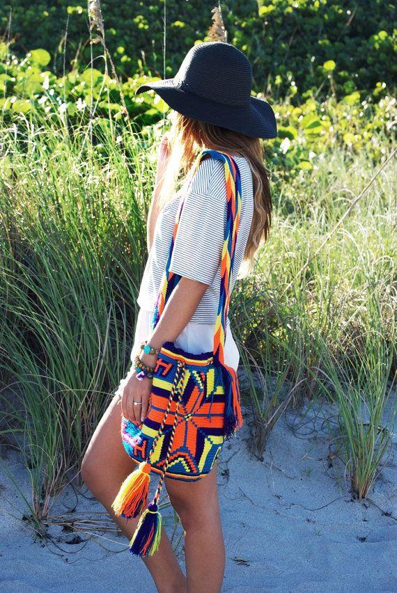 Handmade wayuu mochila bag by AllGirlsneed on Etsy #wayuubag #boho
