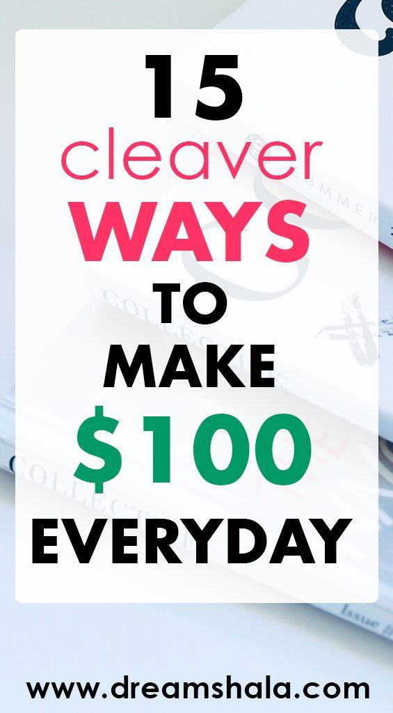 How To Make Money Fast: 15 Proven Ways To Earn $100 Daily – Siva | Dreamshala | Blogging, Social Media, Online Marketing Updates, WAH Jobs.