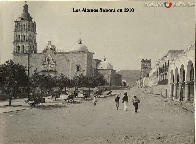 Fotos de Álamos, Sonora, México: La Catedral Hacia 1900