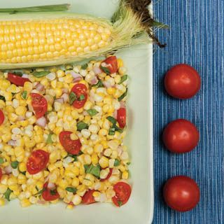 88 best healthy recipes with nutrition facts images on pinterest easy fresh corn salad with tomatoes and basil nutrition facts per serving forumfinder Images