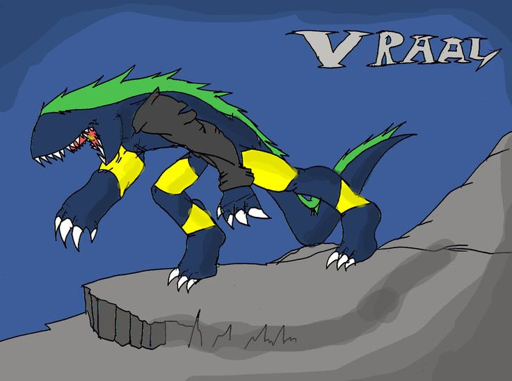 Deltora quest vraal anime shadow minion by youshall
