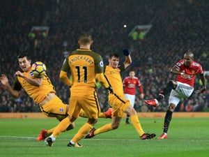 Result: Manchester United need own goal to beat Brighton & Hove Albion