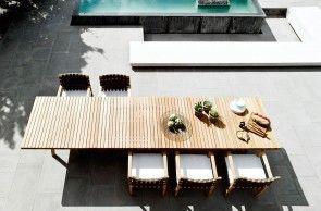 Vis à vis outdoor table   Tribù