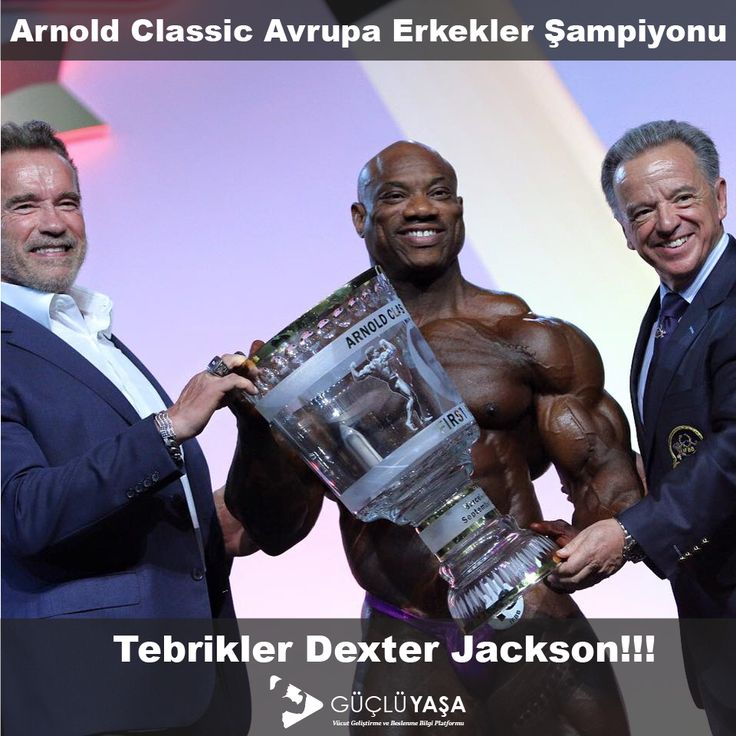 Tebrikler Dexter Jackson!!! Arnold Classic Avrupa Erkekler Fitness Şampiyonu🏆🏋🏻🔝💪🏻  #vücutgeliştirme #bodybuilding #arnoldclassiceurope2016 #dexterjackson #champion #gym #motivasyon #fitlife #spor #antrenman #muscle #vücut #arnold #halter #yaşam #türkiye #güçlüyaşa gucluyasa.com