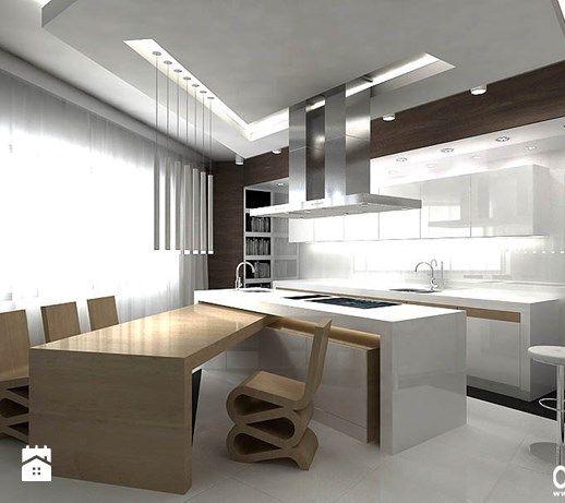 projekt nowoczesnej kuchni - zdjęcie od ARTDESIGN architektura wnętrz