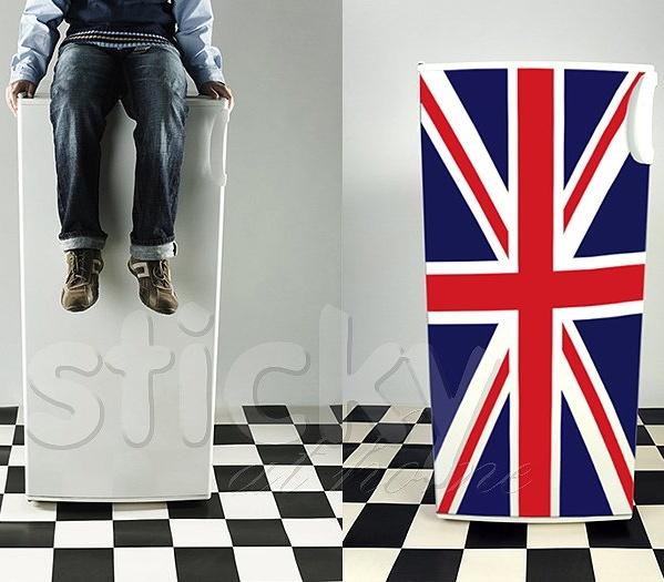 Fridgy Sticker UNION FLAG by Sticky!!!