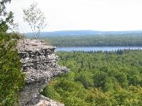 Cup and Saucer...Awesome trail and beautiful scenery :)   Manitoulin Island is a wonderful place!